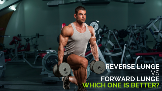 Are dumbbell reverse lunges better than forward lunges?